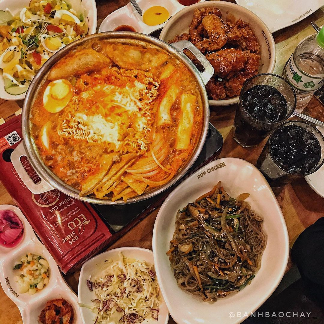 buffet tokbokki donchicken