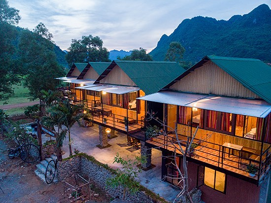 Forest boss homestay quang bình