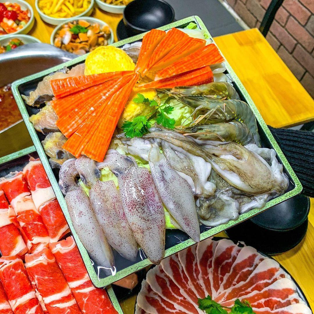 buffet hai san ha dong lau wang
