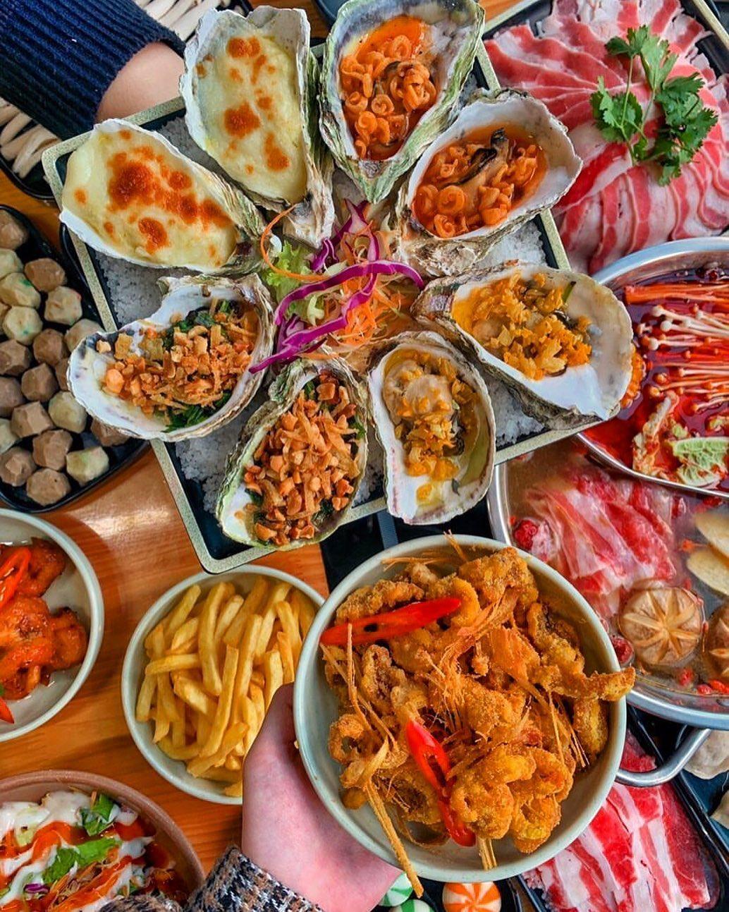 lau wang buffet hai san ha dong