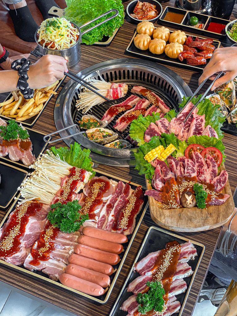 one piece buffet lau nuong o ha noi