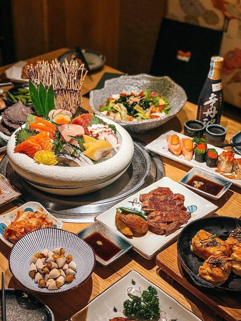 phạm thanh tâm buffet isushi 1