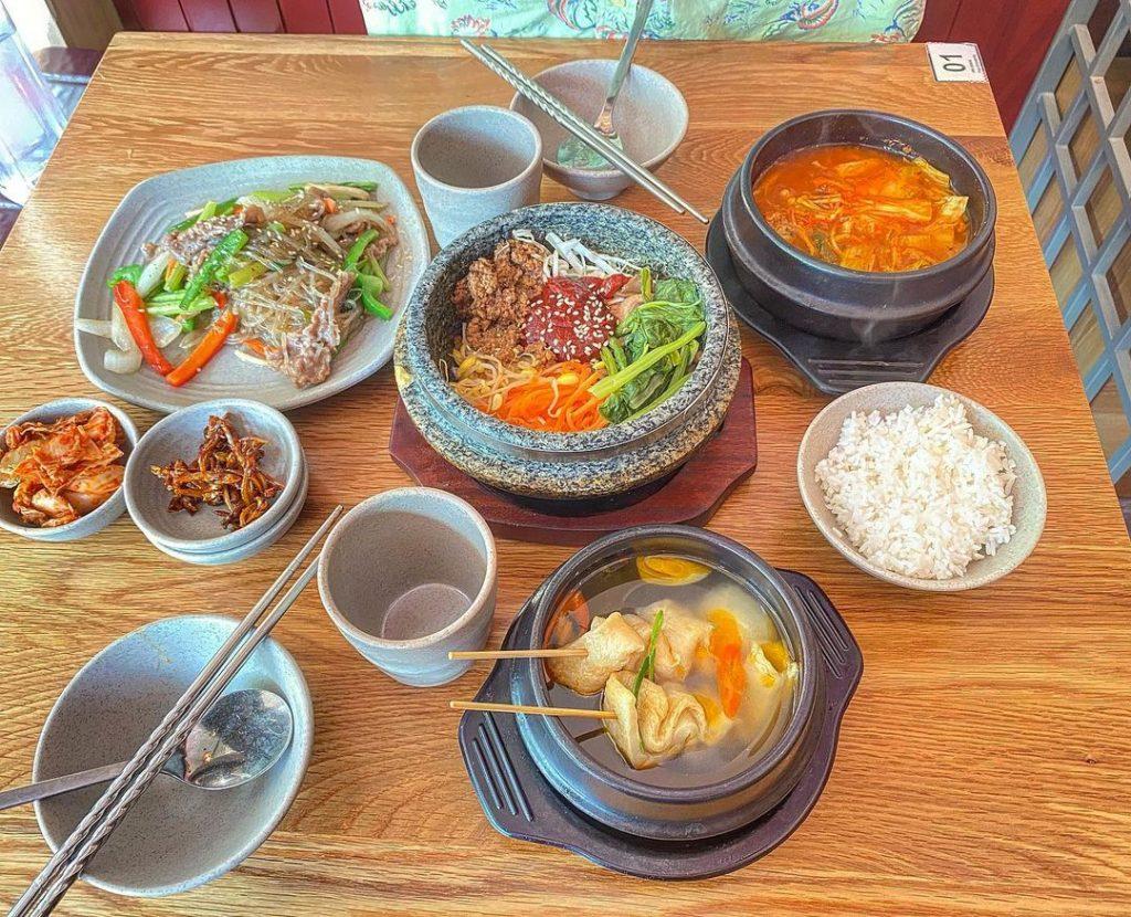 Busan Korean Food - Quan an Han Quoc o Sai Gon