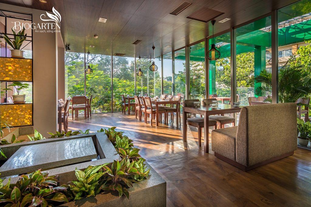 Nha hang chay Bio Garten