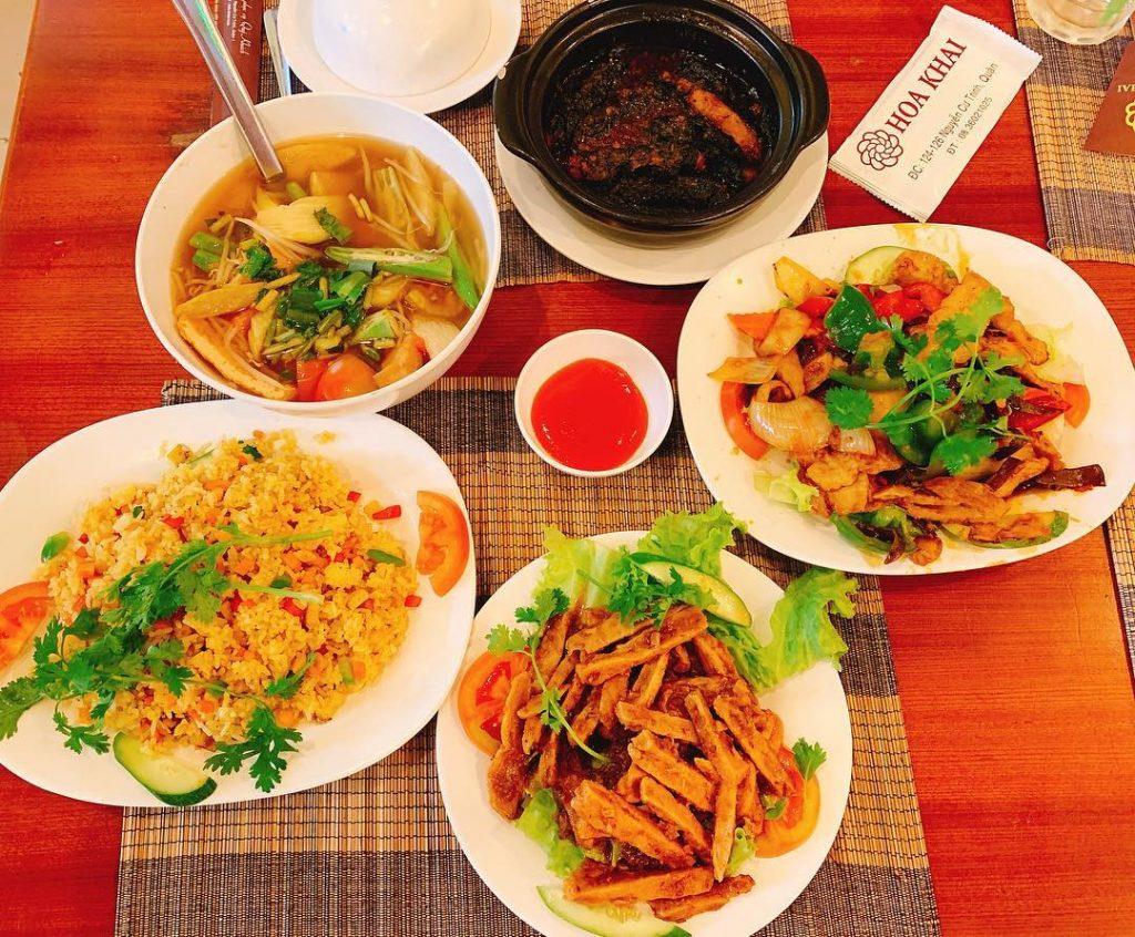 Nha hang chay Hoa Khai