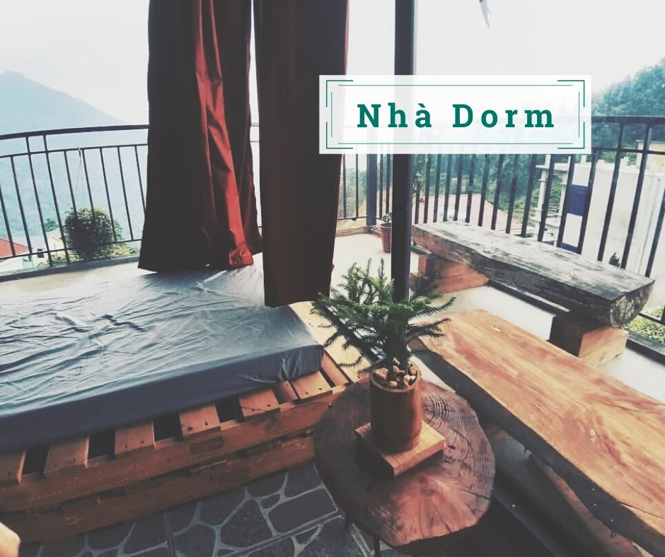 nha dorm up in the air tam dao