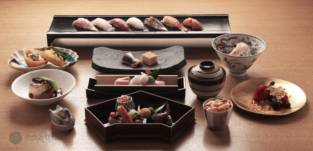 nha hang Asahi Sushi