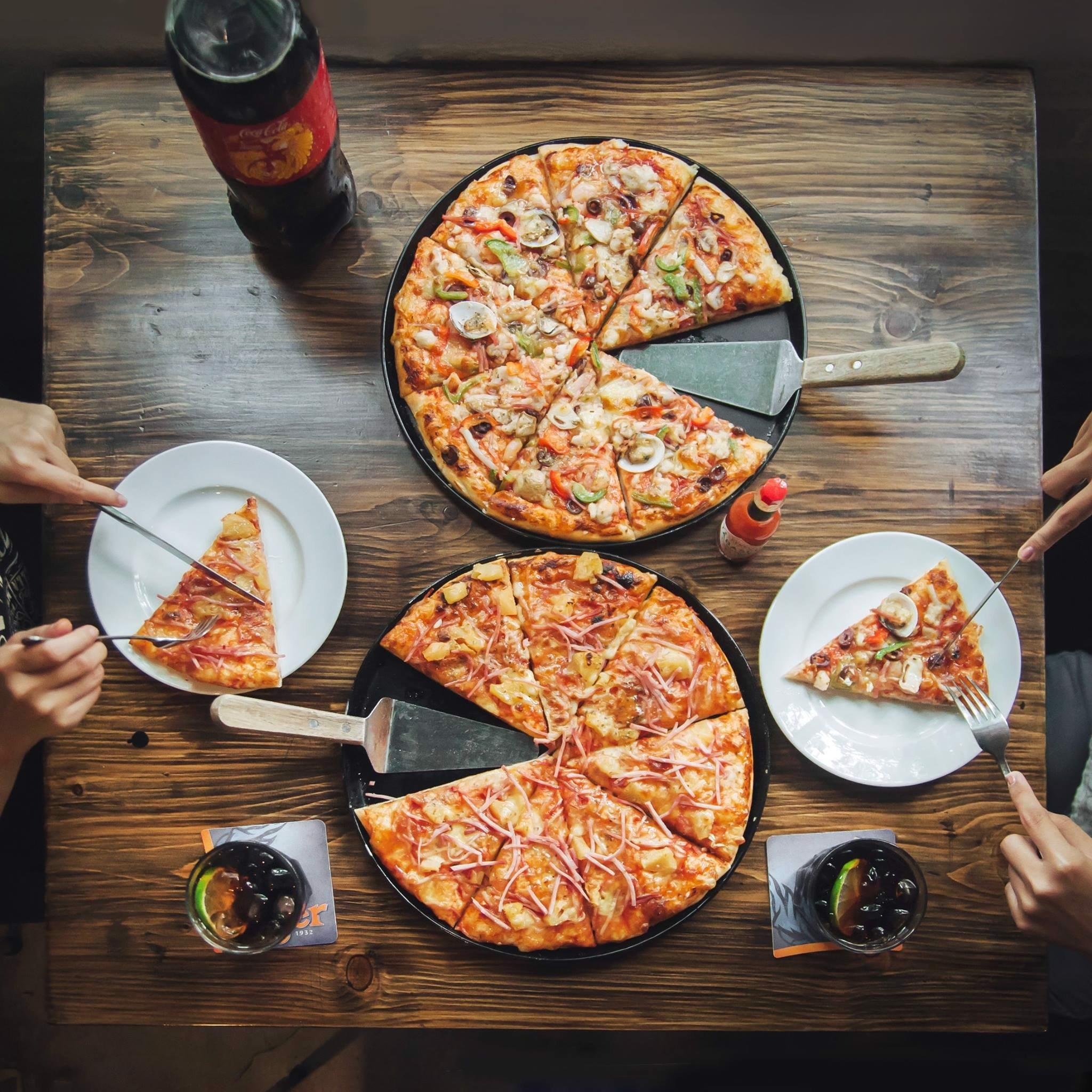 pizza hai ba trung al freco's