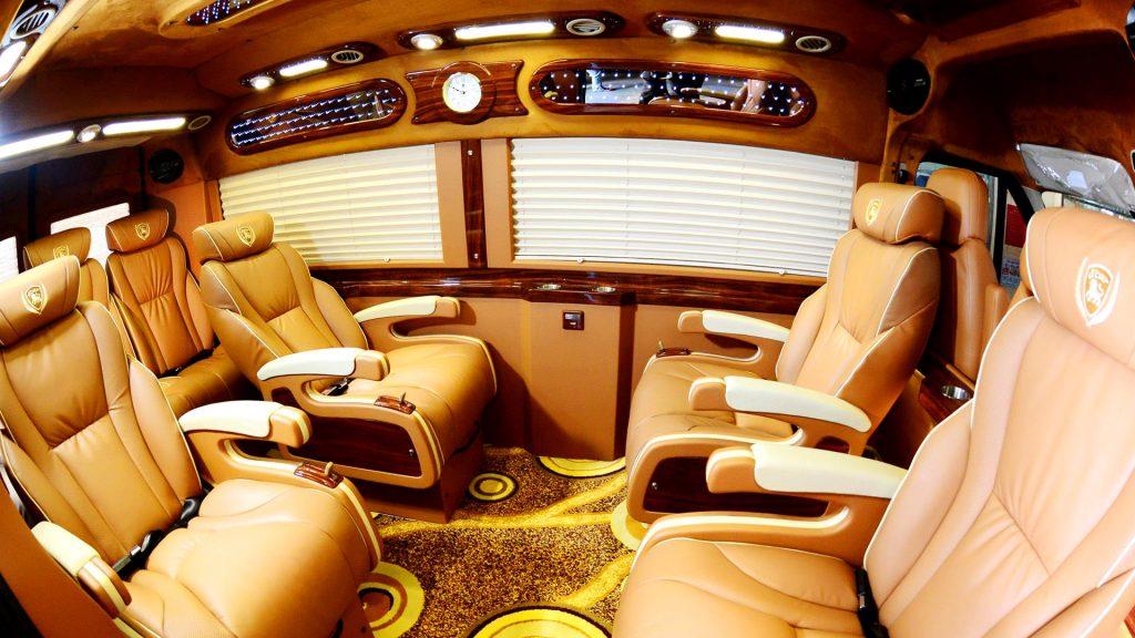 xe limousine di van don