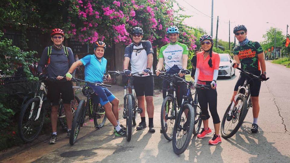 đạp xe tại bà đất eco homestay
