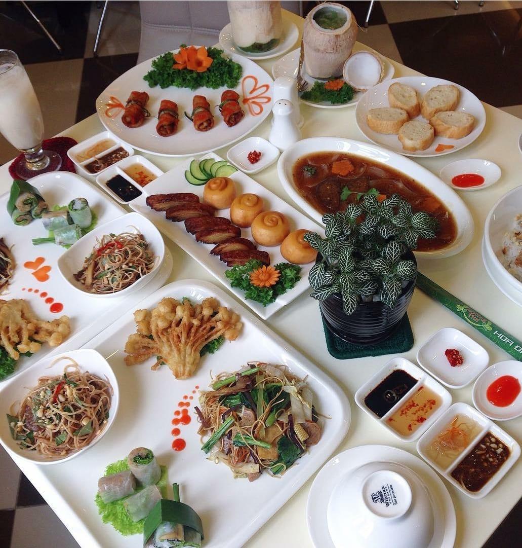 buffet chay hoa dang 2