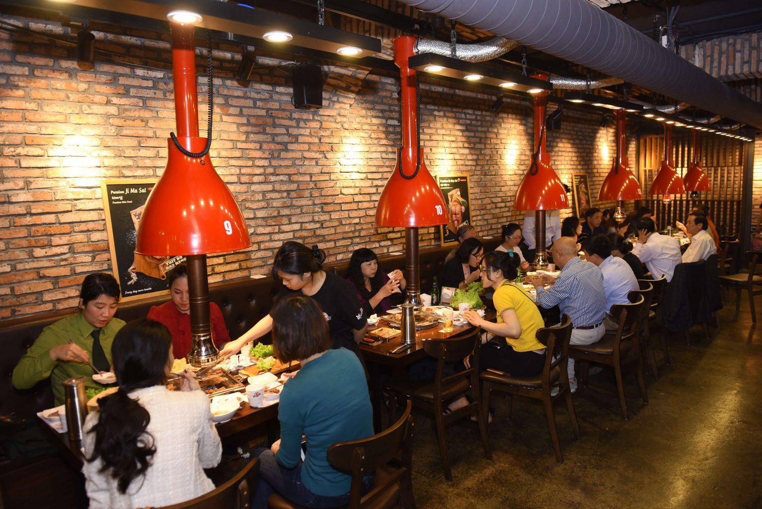 khong gian meat plus giang vo 2