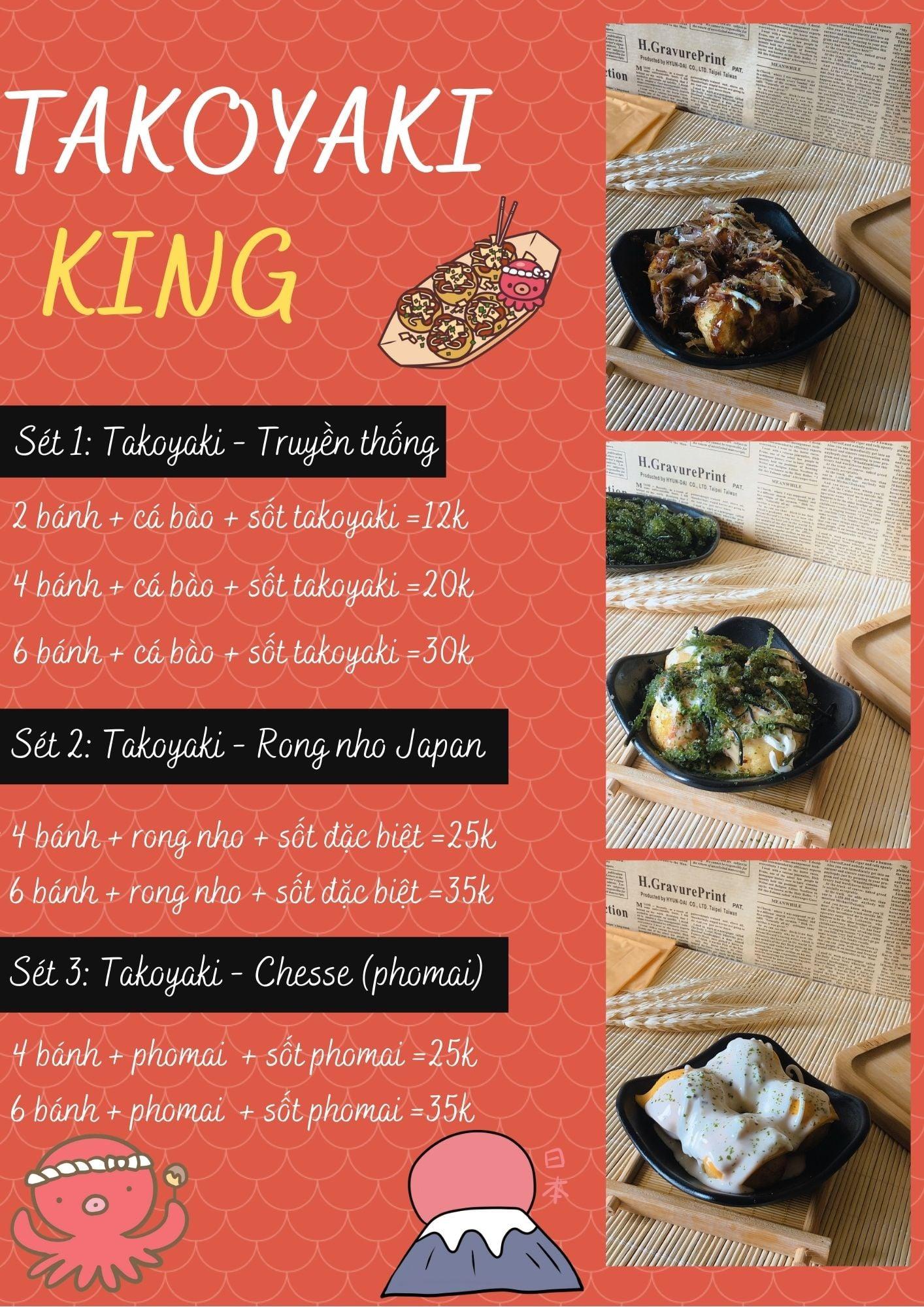 king takoyaki ha noi
