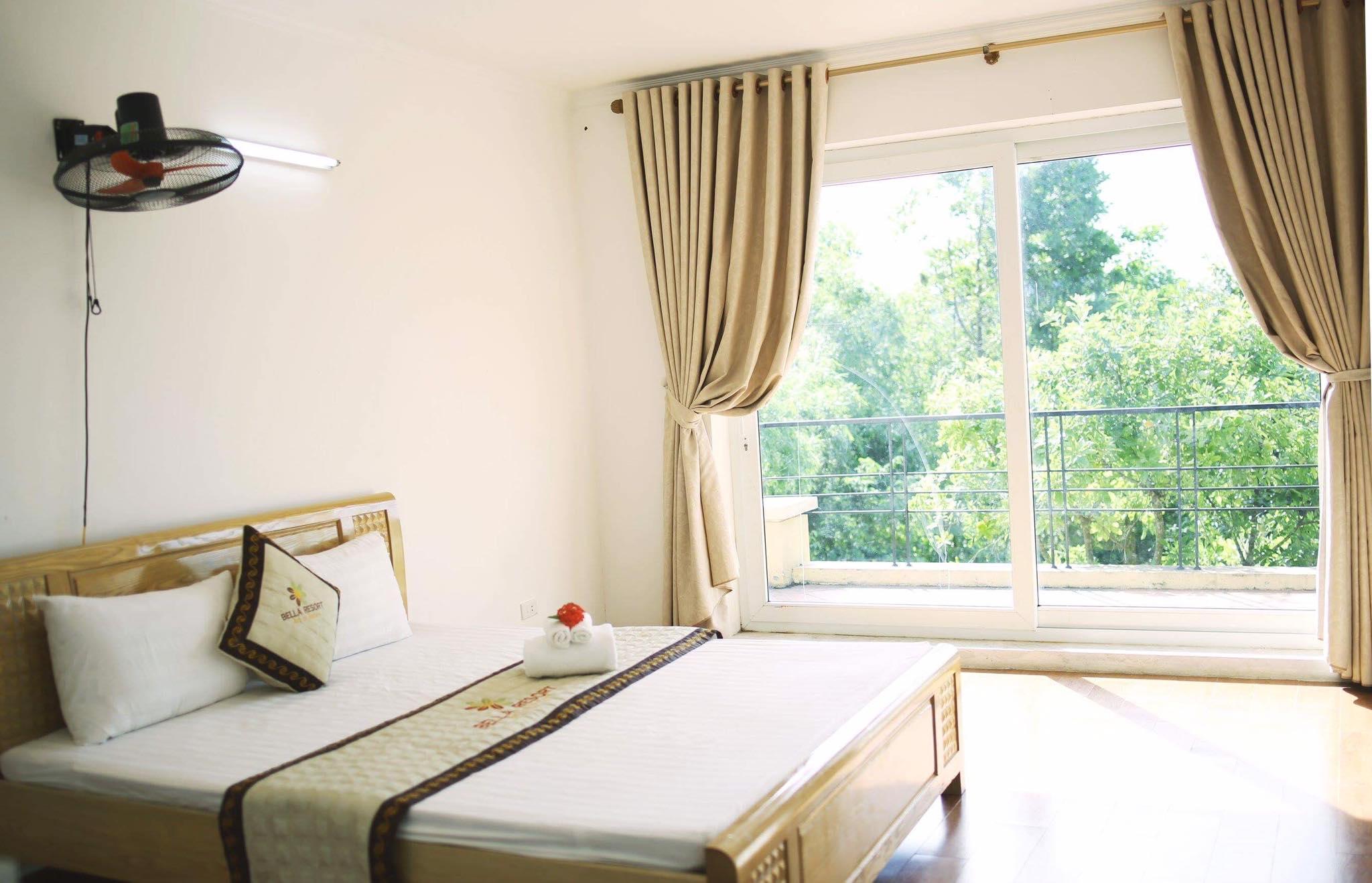 phong ngu bella resort ba vi
