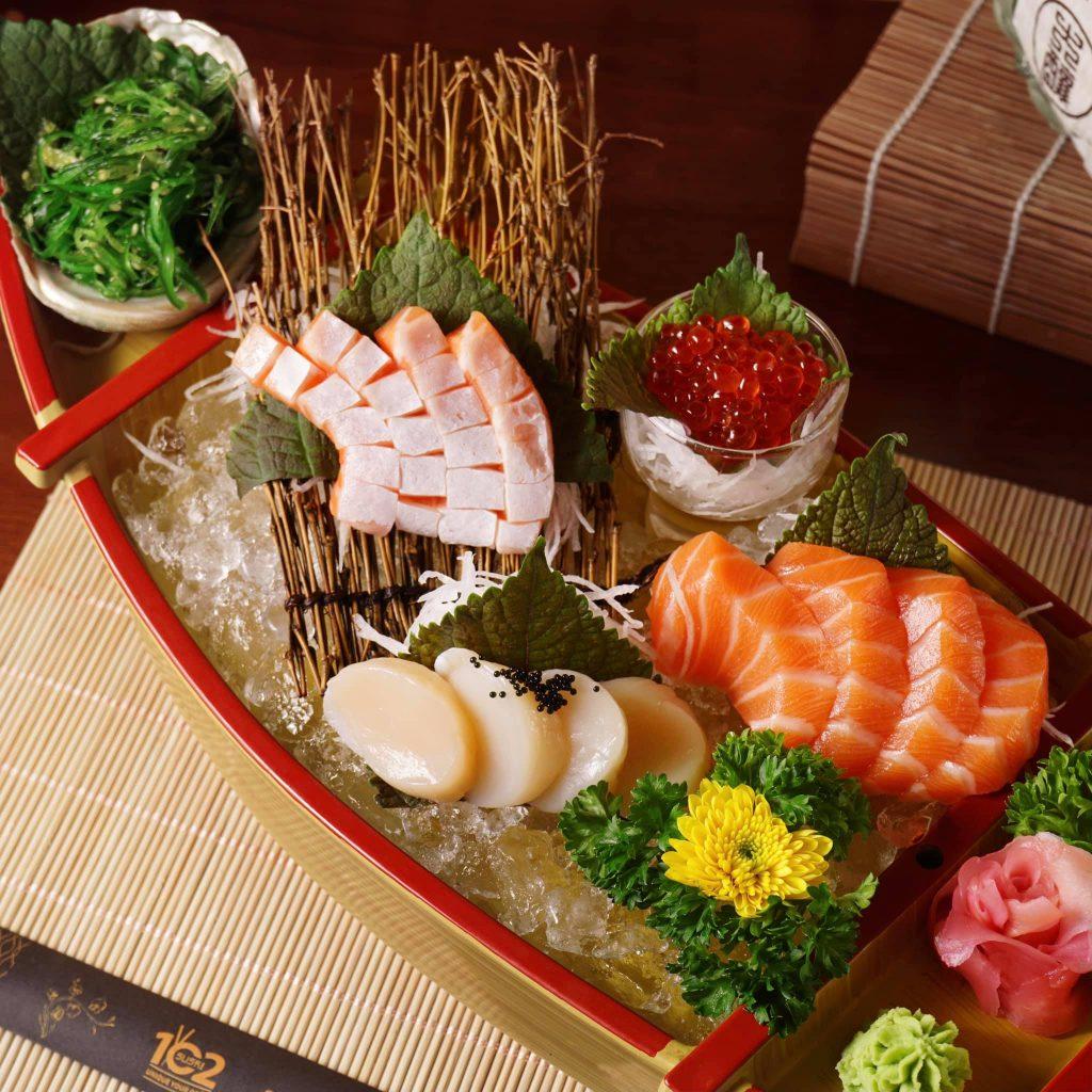 quán sushi ngon quận 1