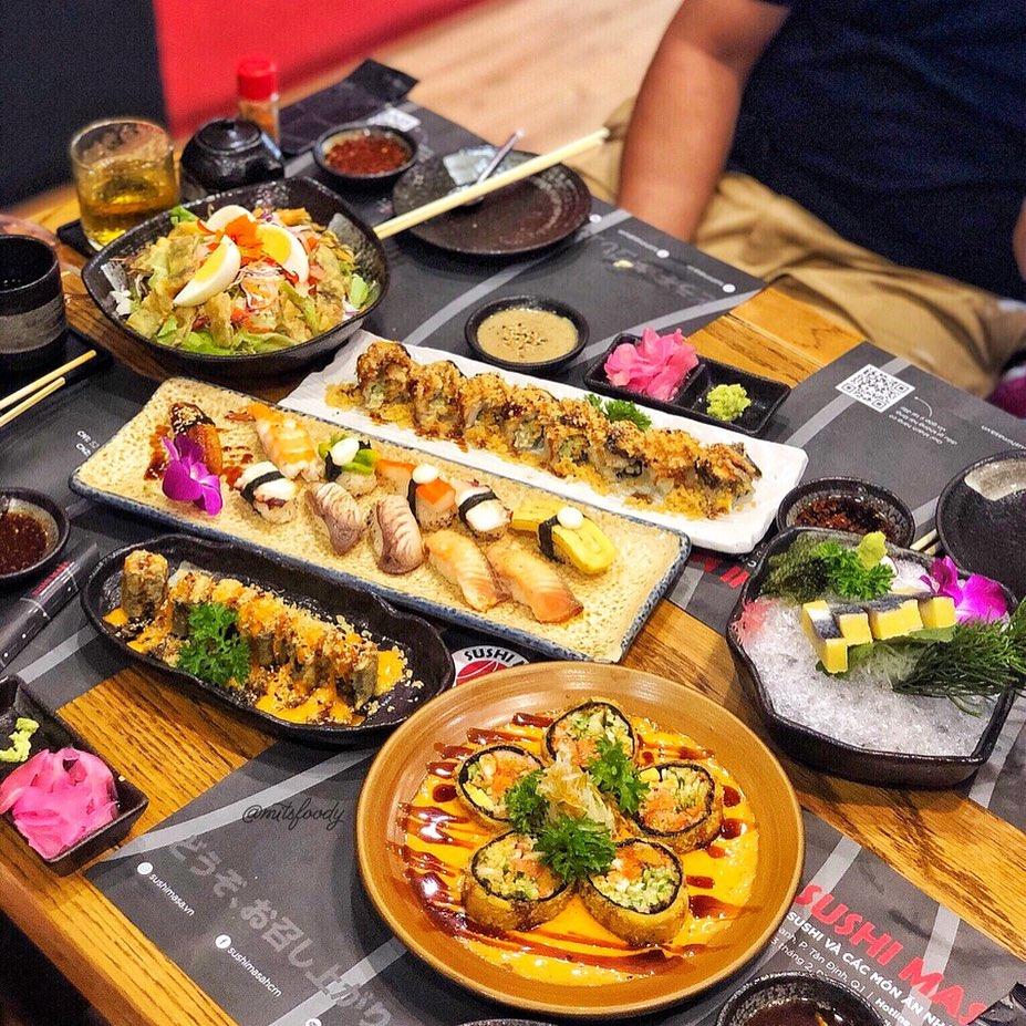 nhà hàng sushi ngon quận 1