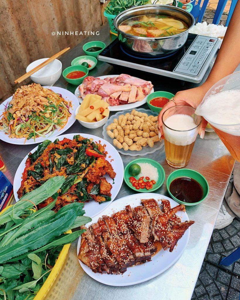 vit nuong hung hanh