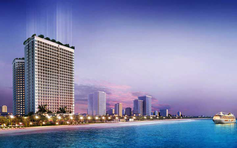 Danang Golden Bay Hotel khach san 6 sao