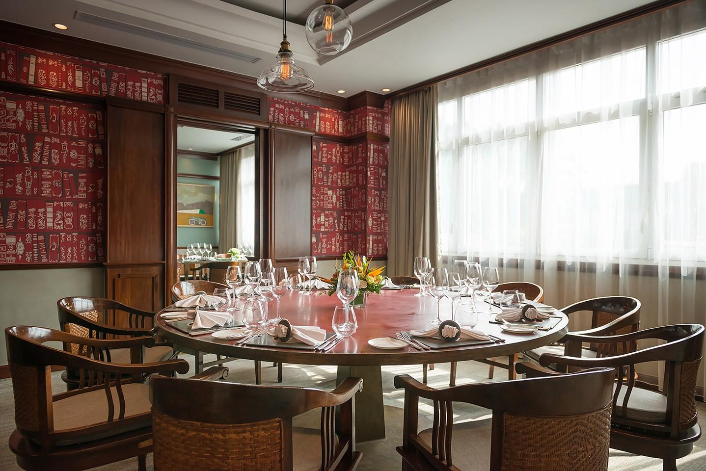 La Table du Chef nha hang Phap o Ha Noi