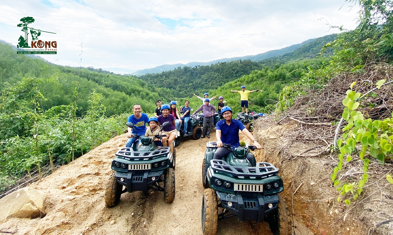 Lai xe ATV Kong Forest 1