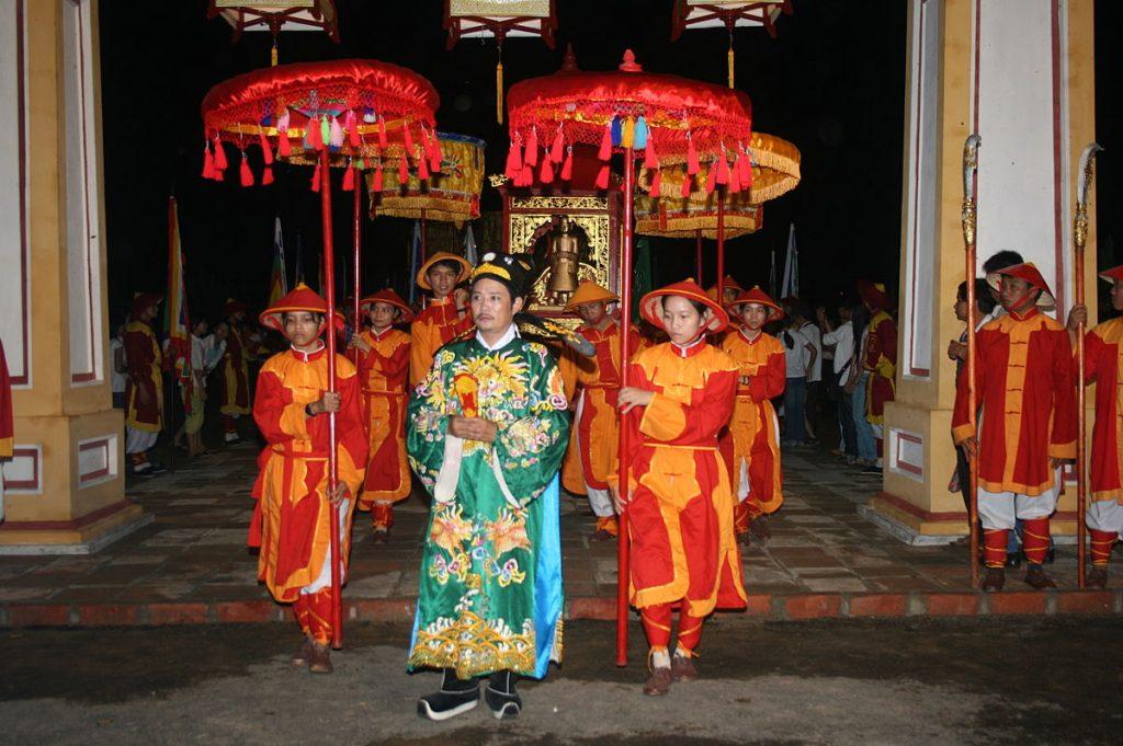 Phúc dung le te Đàn Nam Giao trong Festival Huế