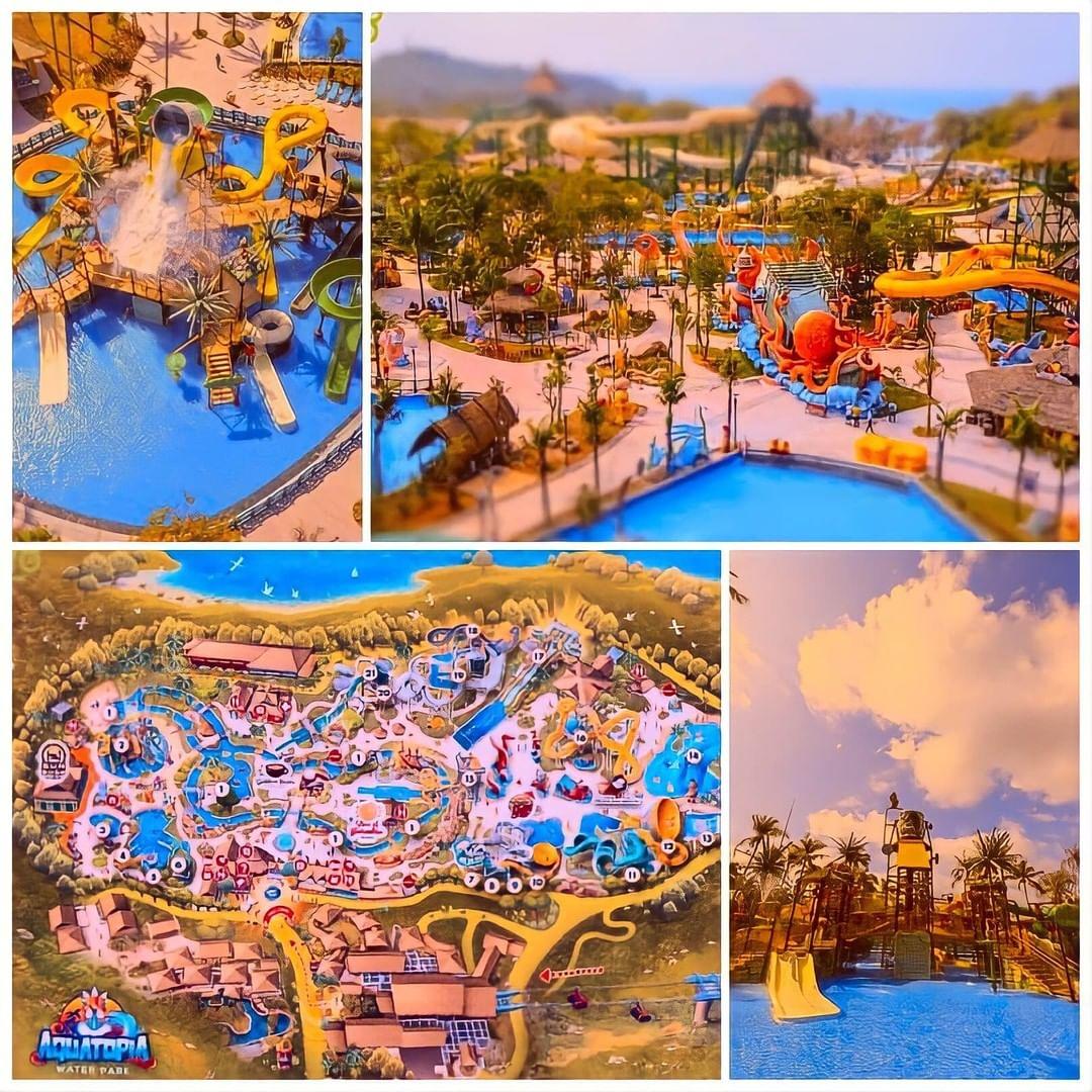 aquatopia water park tour dao phu quoc 2 ngay 1 dem