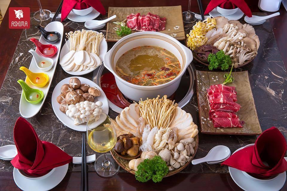 lau nam ashima hoang dao thuy menu