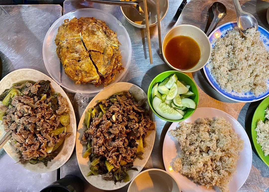 Cơm rang Ánh Dung