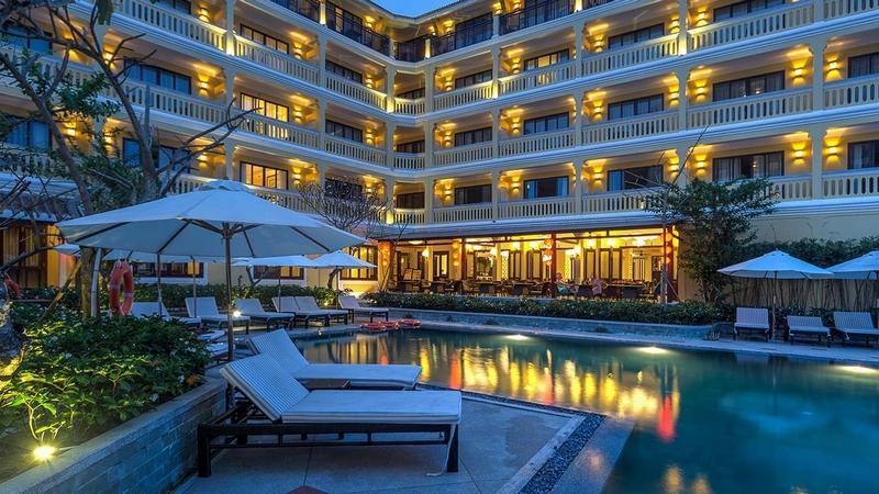 khách sạn trung tâm hoi an