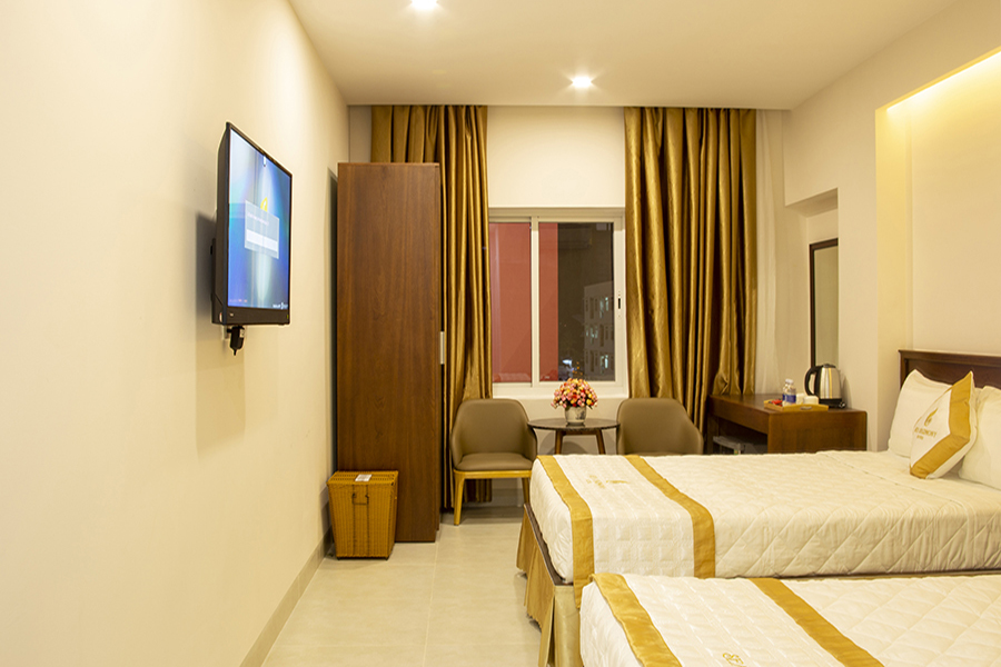 Sea Harmony Hotel Quy Nhơn nằm ở vị trí rất gần với biển Quy Nhơn