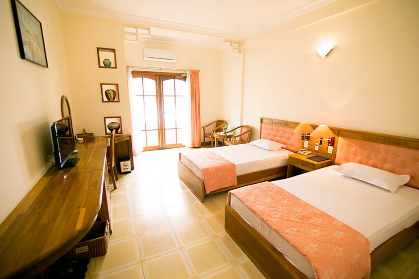 Khách sạn Quy Nhơn mang đến du khách không gian nghỉ dưỡng sang trọng và thoải mái