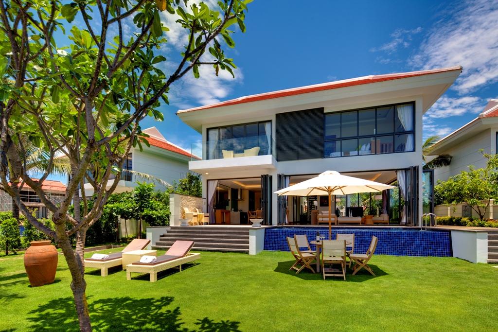 kiến trúc villa tại The Ocean Villas Đà Nẵng