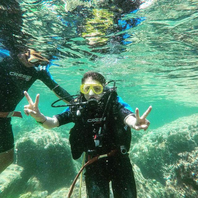 Lặn ngắm san hô trong Tour Quy Nhơn 3 ngày 2 đêm