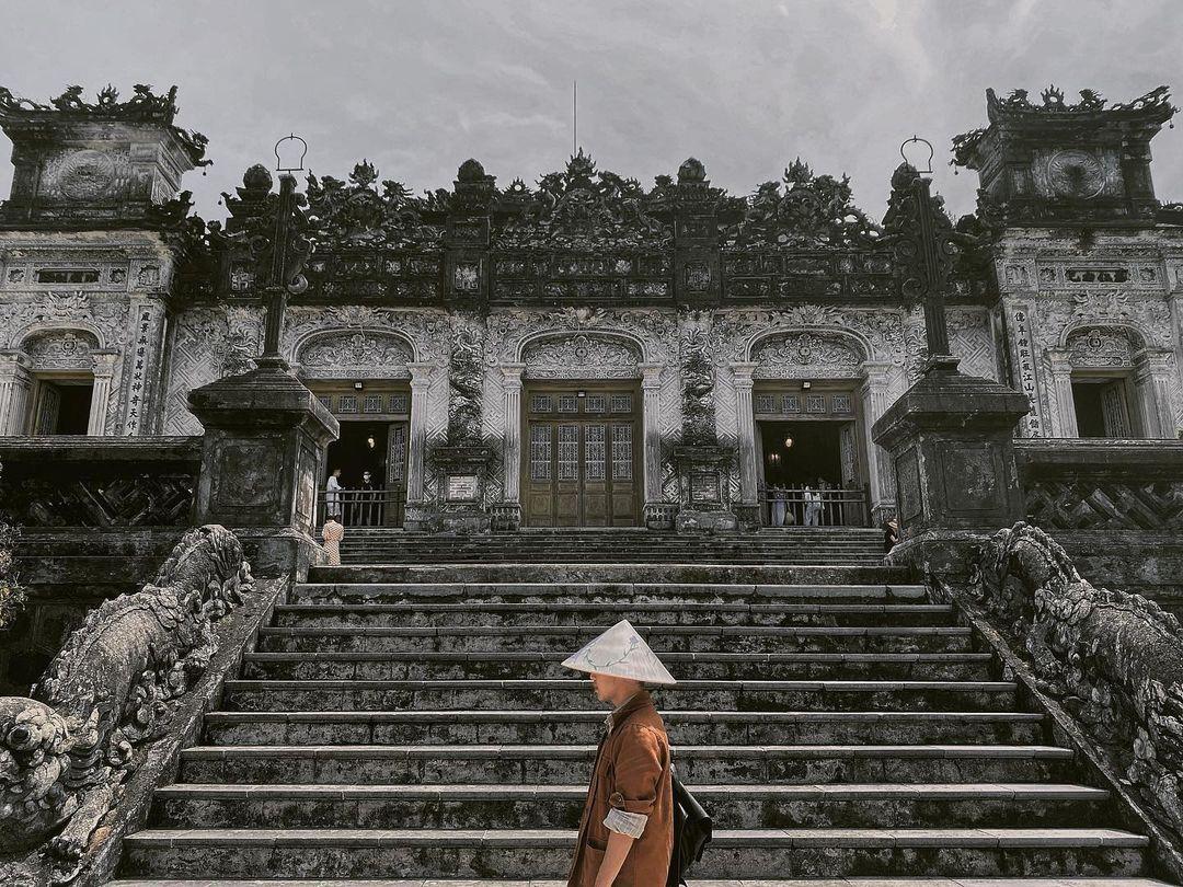 Lăng Khải Định - tour Đà Nẵng Hội An Huế