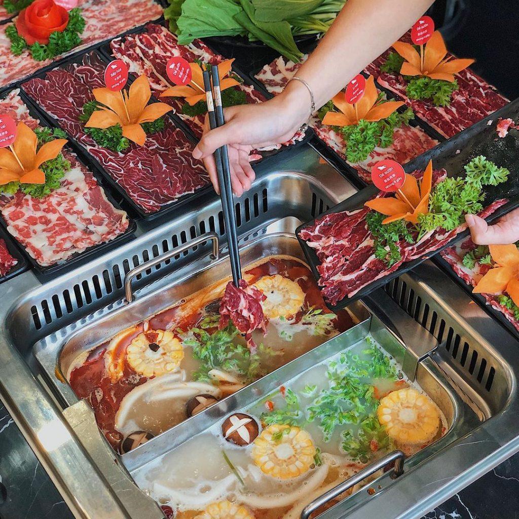 Nhà hàng lẩu bò Trung Hoa ngon nức tiếng Hà Thành