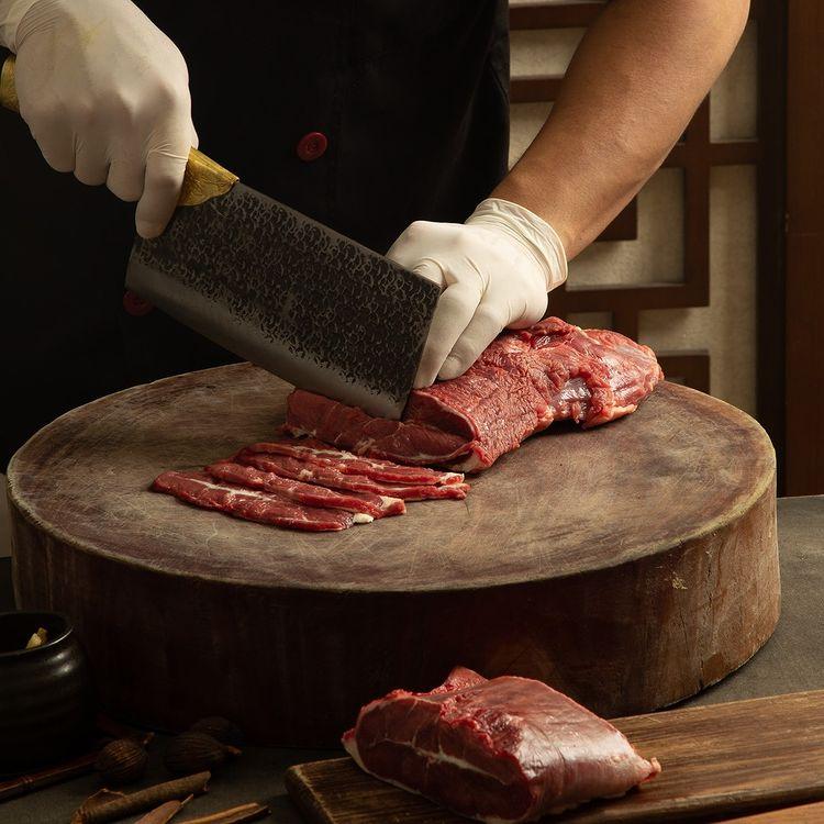 Thực phẩm với chất lượng tuyệt hảo, tươi ngon 100% tại lẩu bò Trung Hoa