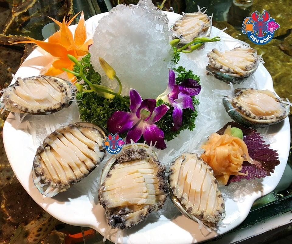 món ngon tại hải sản biển đông trần quốc toản