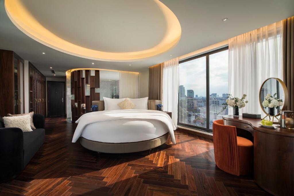 Soleil Boutique Hotel khach san 4 sao ha noi