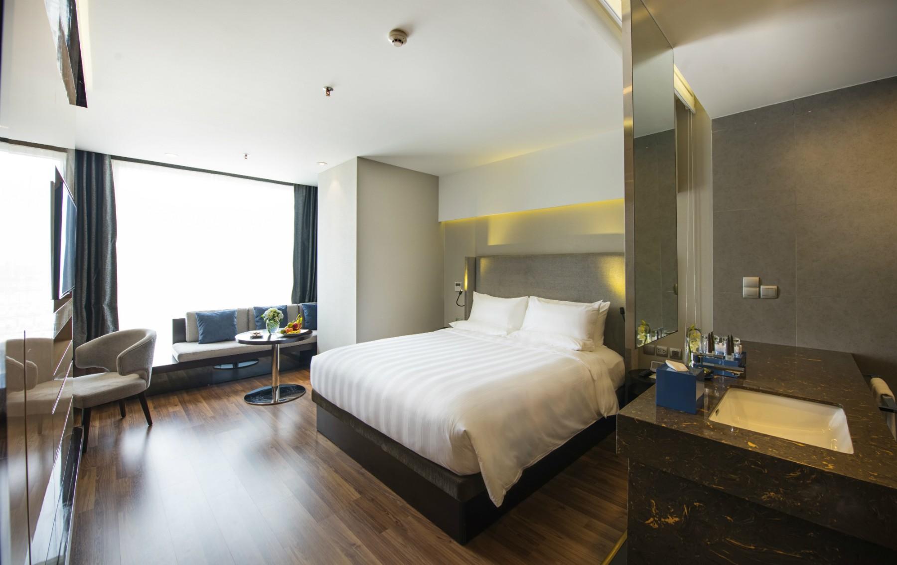 Khách sạn Novotel Suites Hanoi khu vực cầu giấy