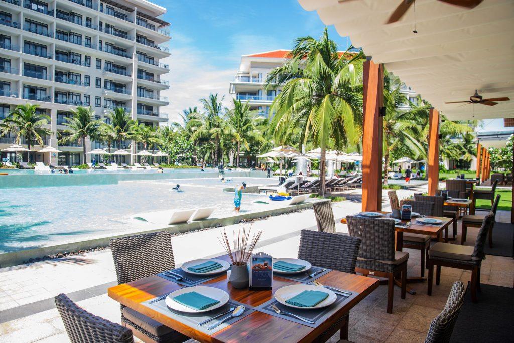 Nhà hàng sang trọng bên trong khu nghỉ dưỡng The Ocean Villas Đà Nẵng