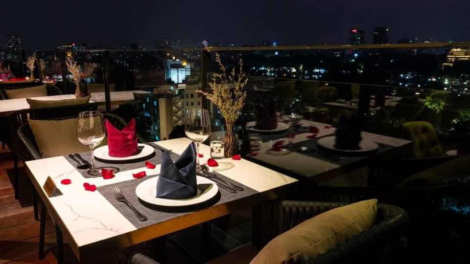 Panorama Restaurant & Bar- nhà hàng rooftop