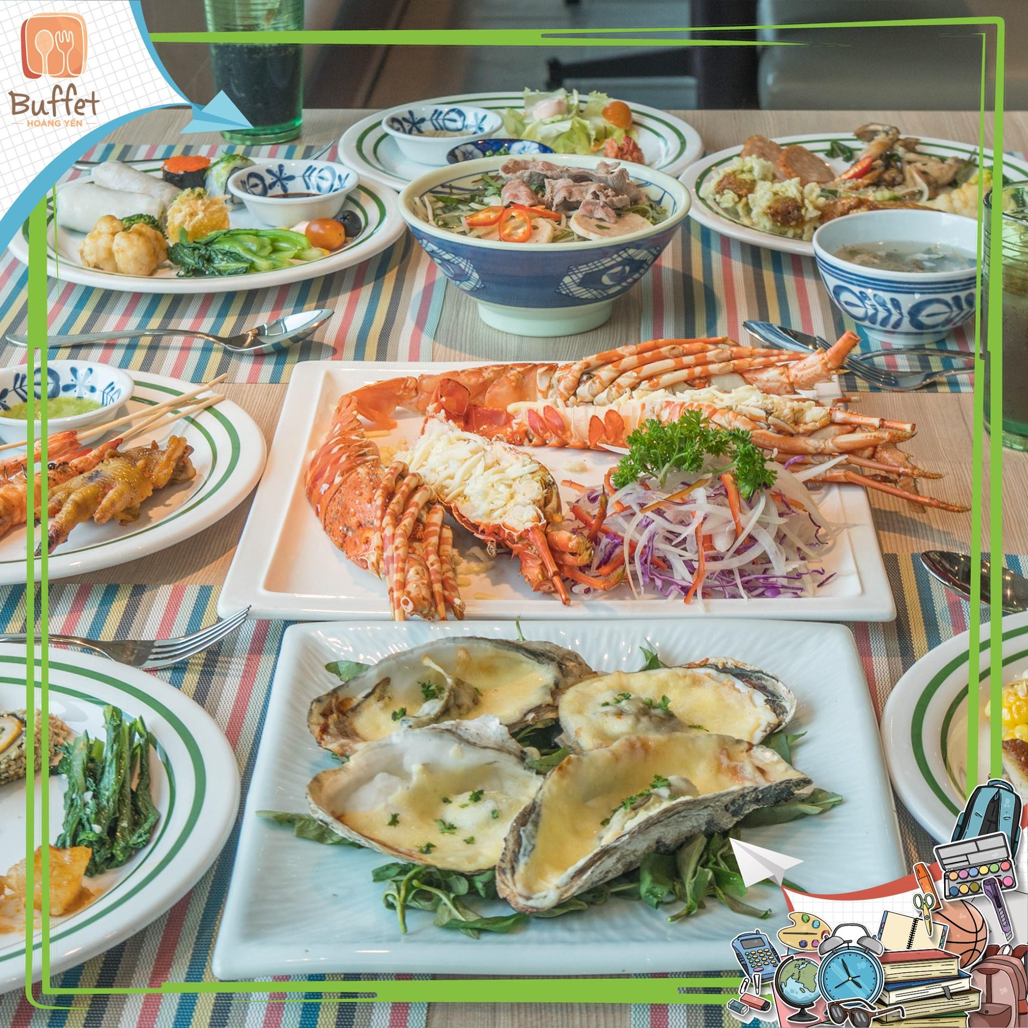 Hoang yen buffet