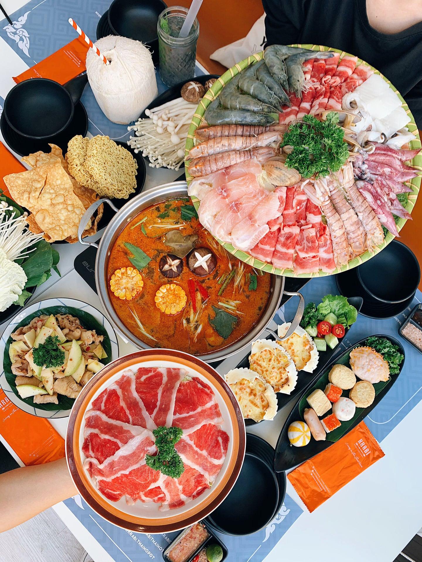 Krabi Thai Cuisine lau thai ngon Ha Noi
