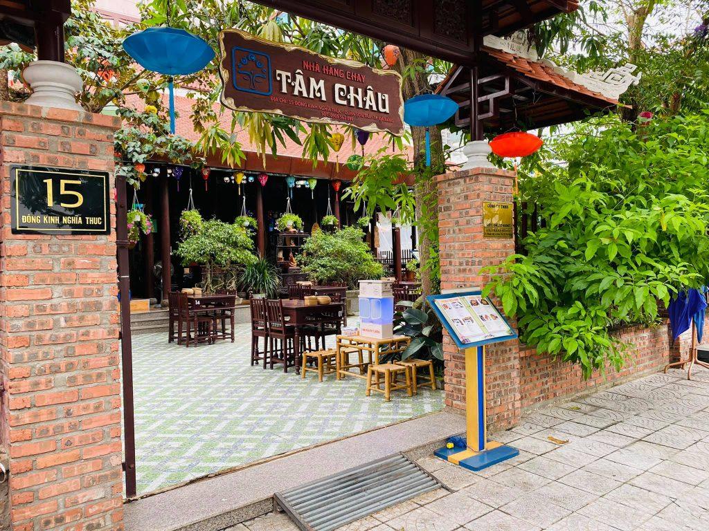 Nha hang chay Tam Chau
