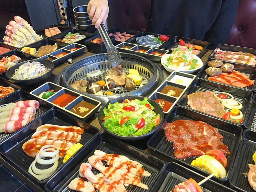 Sashimi BBQ lau nuong hải phòng
