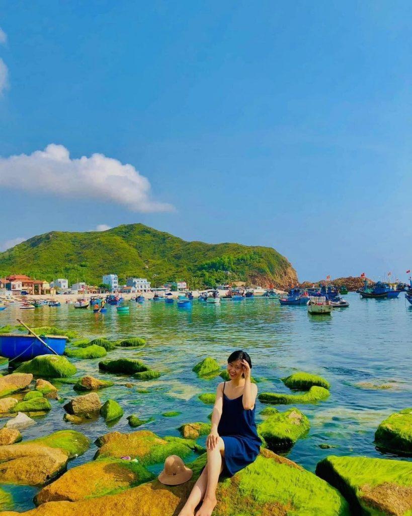 Vị trí của bãi biển Cam Bình