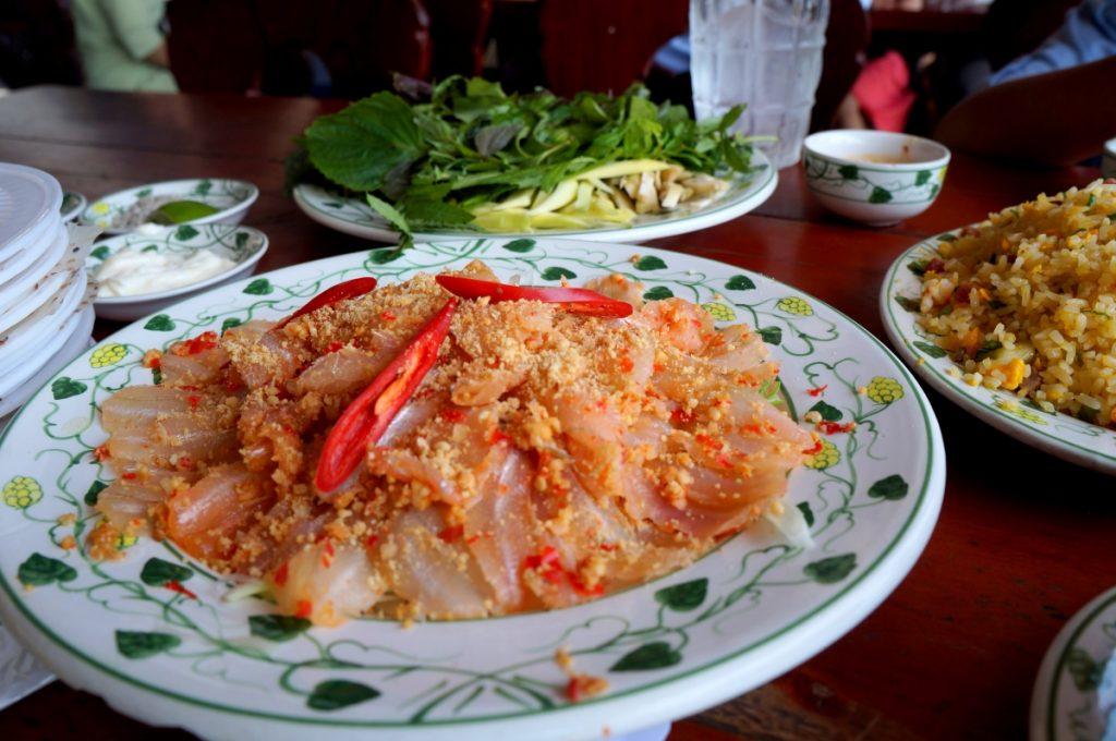 Gỏi cá mai Bình Thuận