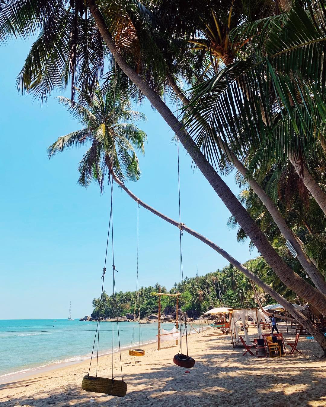 Bãi biển Hà Tiên đẹp - Bãi Bàng