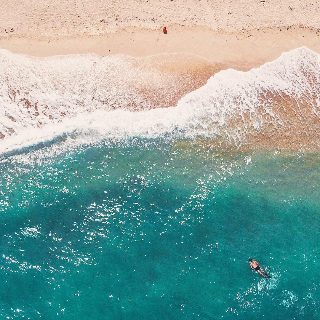 Bãi Dương với biển xanh nắng vàng