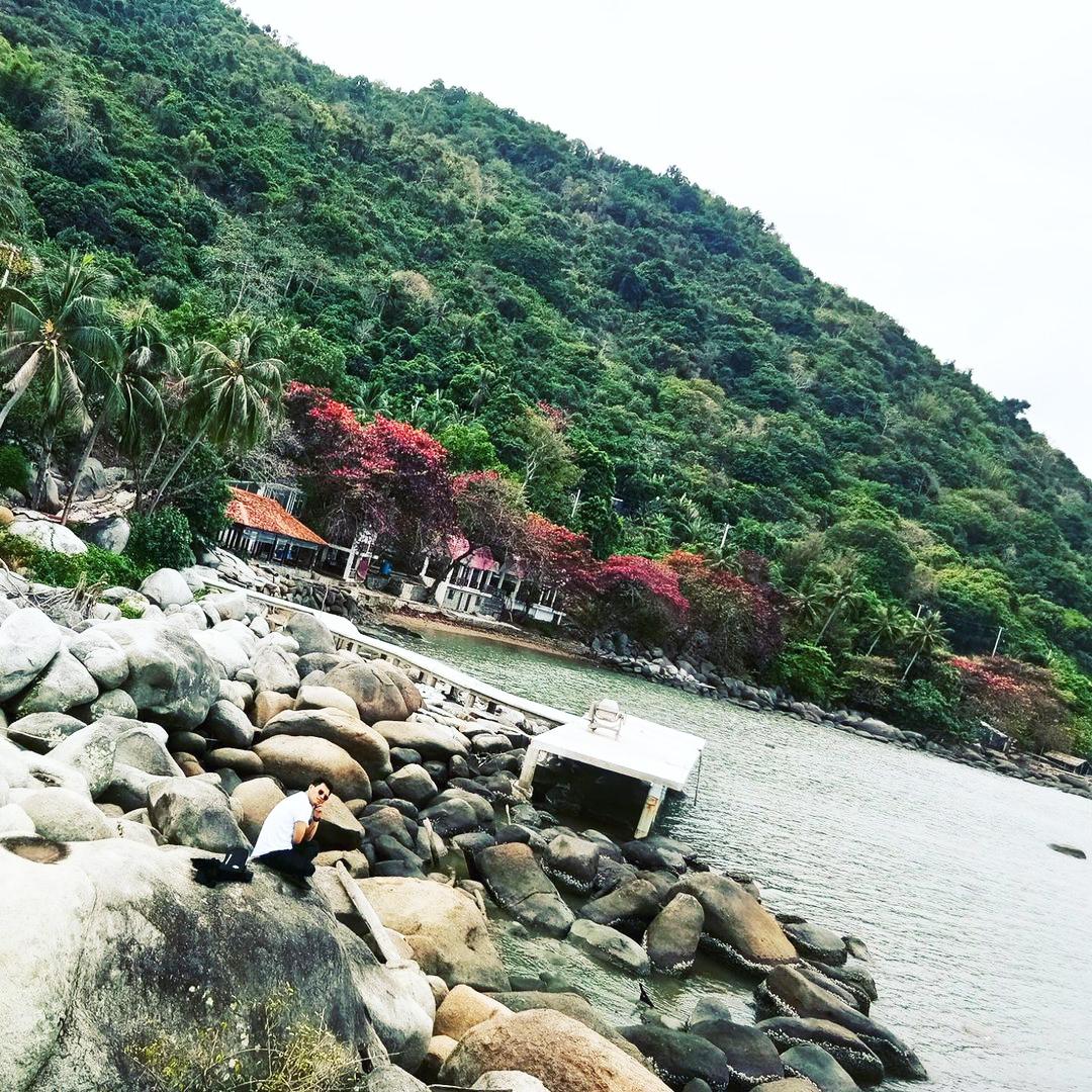 Bãi Chén - Một trong những bãi biển Hà Tiên đẹp
